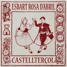 logo Esbart Rosa d'Abril